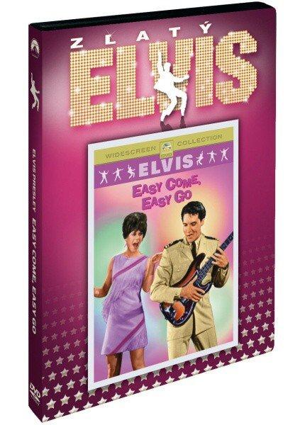 Elvis Presley: Easy Come, Easy Go - edice Zlatý Elvis (DVD) (pouze s českými titulky)