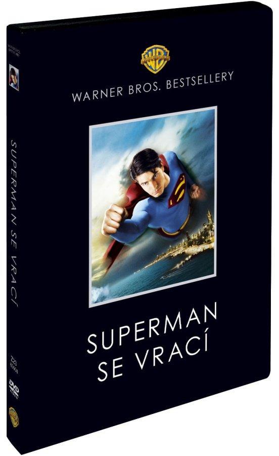 Superman se vrací (2xDVD) - Warner Bros. Bestsellery