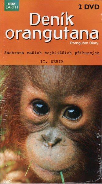 Deník orangutána 2. série (2 DVD) - BBC (papírový obal)