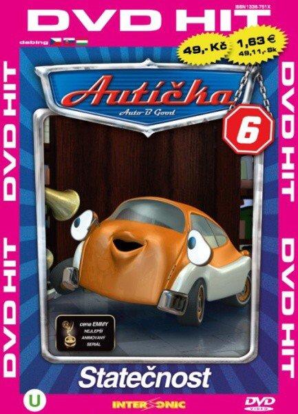 Autíčka 6 - edice DVD-HIT (DVD) (papírový obal)