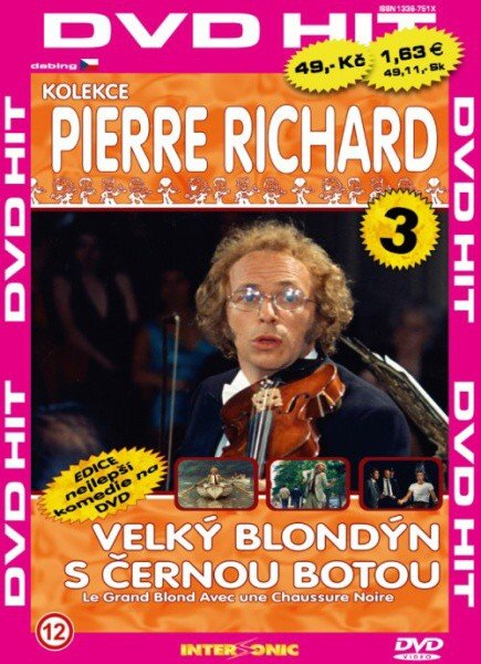 Velký blondýn s černou botou - edice DVD-HIT (DVD) (papírový obal)