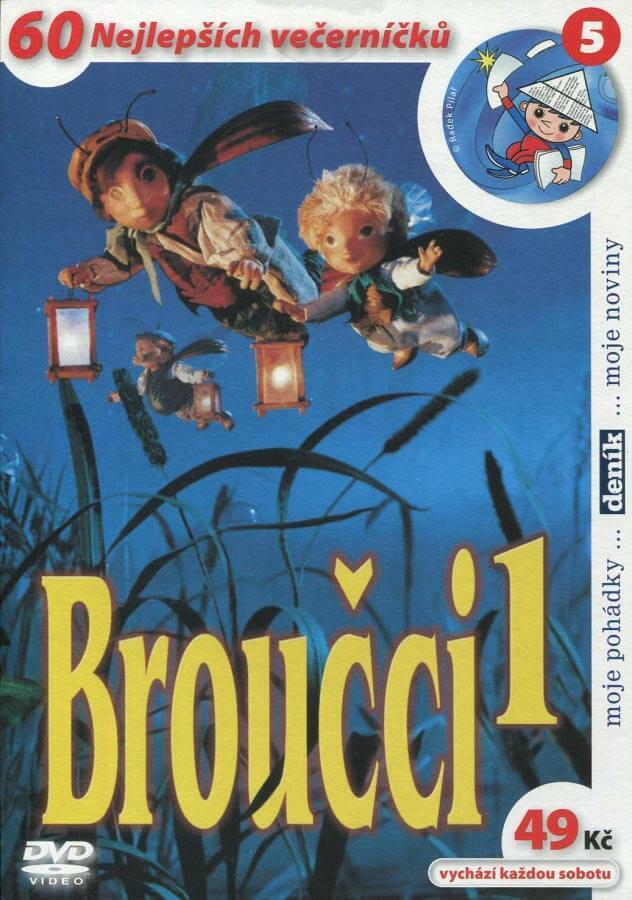 Broučci 1 (DVD) (papírový obal)