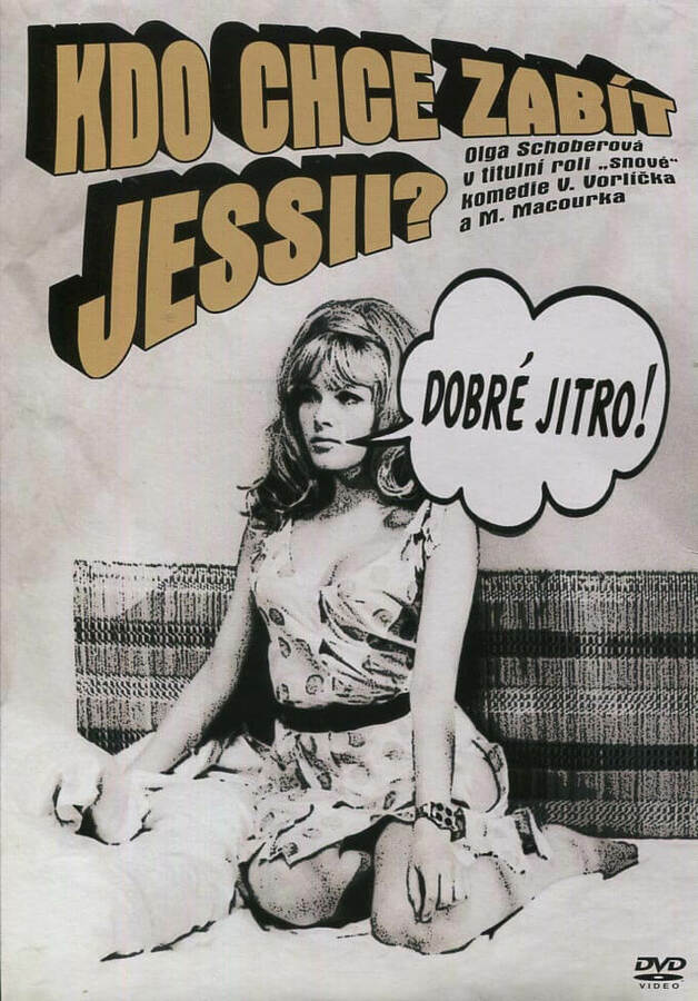 Kdo chce zabít Jessii? (DVD) (papírový obal)