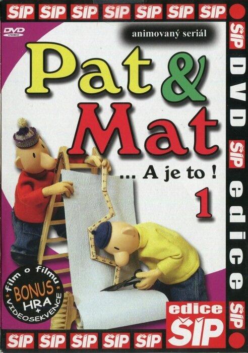 Pat a Mat 1 (DVD) (papírový obal)