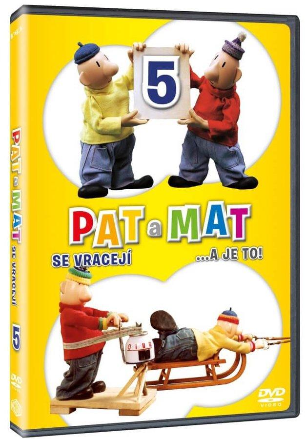 Pat a Mat 5 (DVD)