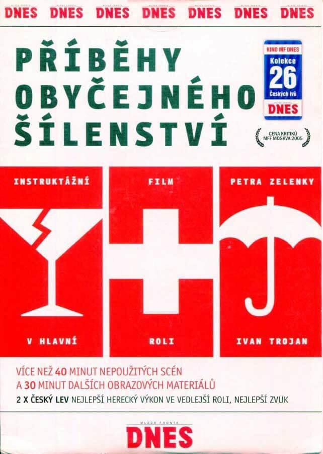 Příběhy obyčejného šílenství (DVD) (papírový obal)