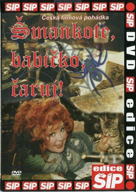 Šmankote, babičko, čaruj! (DVD) (papírový obal)