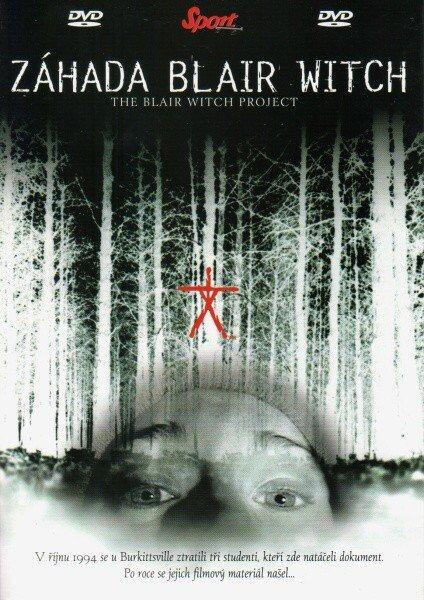 Záhada Blair Witch (DVD) (papírový obal)