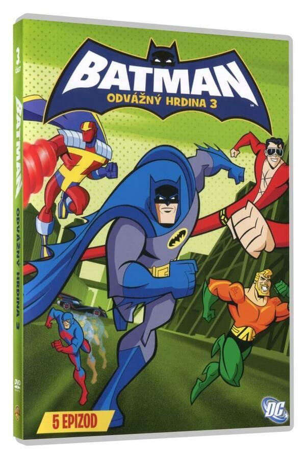 Batman: Odvážný hrdina 3 (DVD)