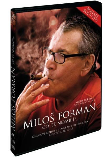 Miloš Forman: Co tě nezabije.. (DVD)