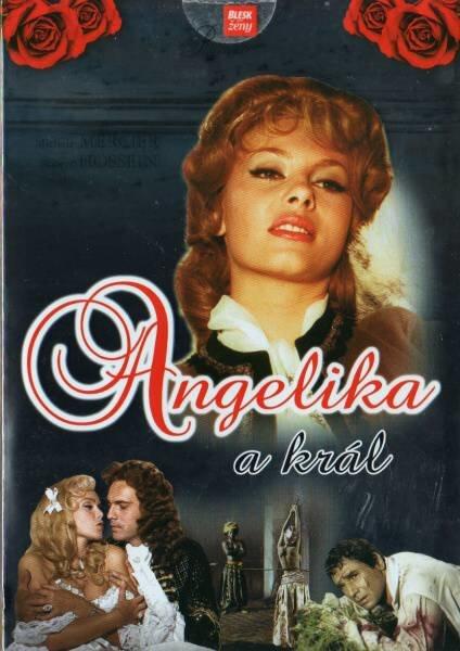 Angelika a král (DVD) (papírový obal)