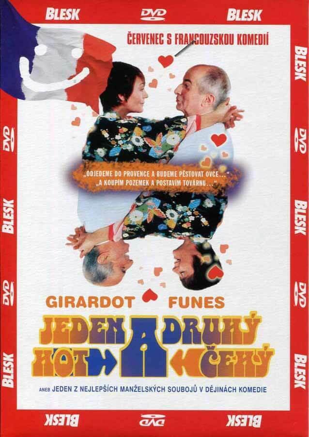 Jeden hot a druhý čehý (DVD) (papírový obal)