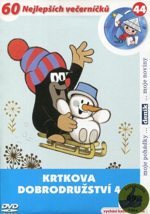 Krtkova dobrodružství 4 (DVD) (papírový obal)