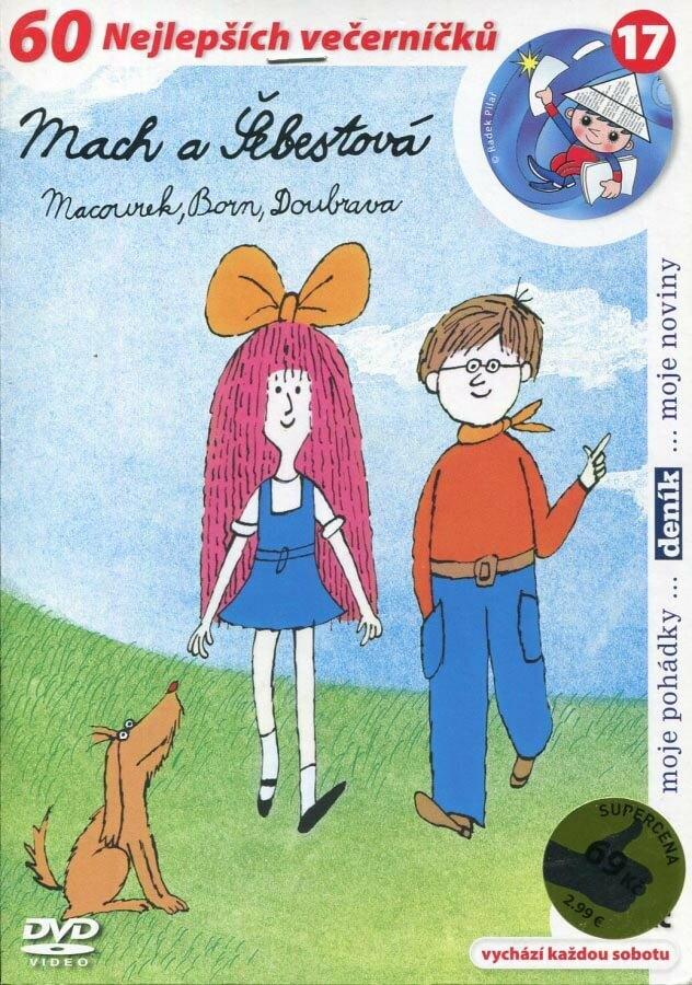 Mach a Šebestová (DVD) (papírový obal)