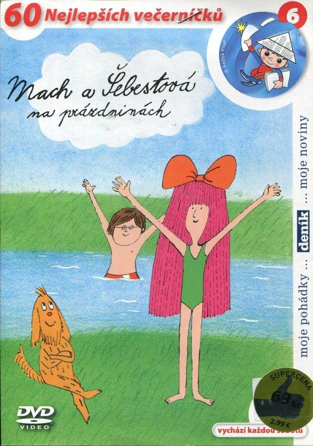 Mach a Šebestová na prázdninách (DVD) (papírový obal)