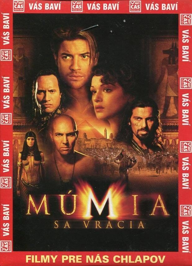 Mumie se vrací (DVD) (papírový obal)