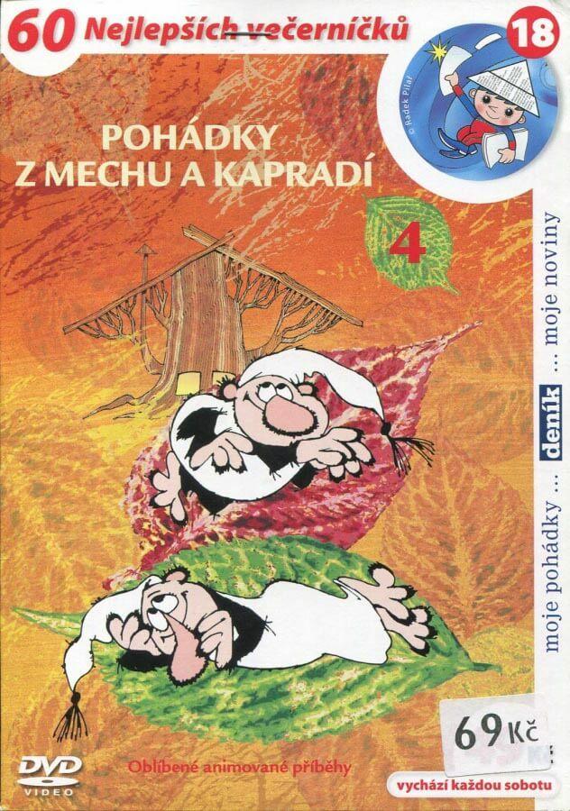 Pohádky z mechu a kapradí 4 (DVD) (papírový obal)