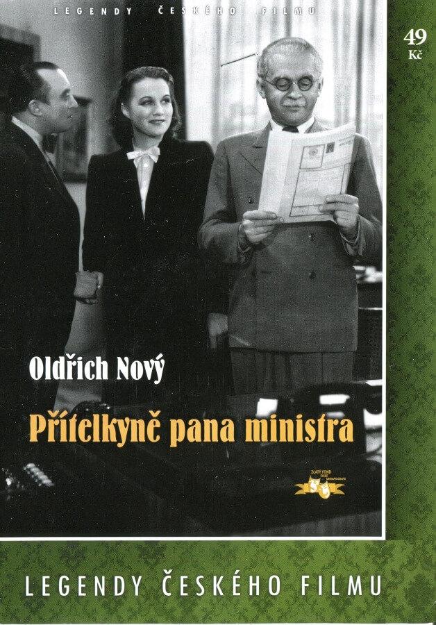 Přítelkyně pana ministra (DVD) (papírový obal)