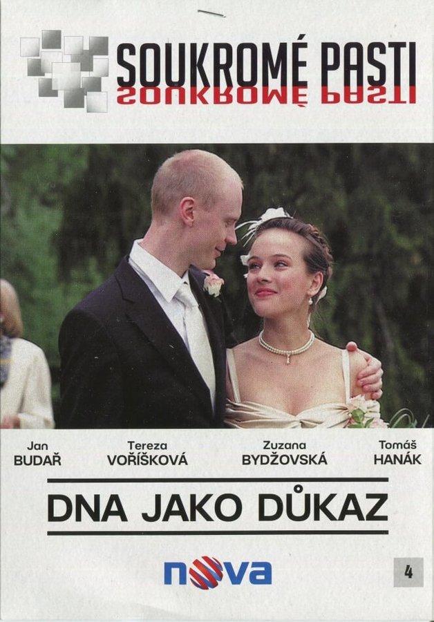 Soukromé pasti - DNA jako důkaz (DVD) (papírový obal)