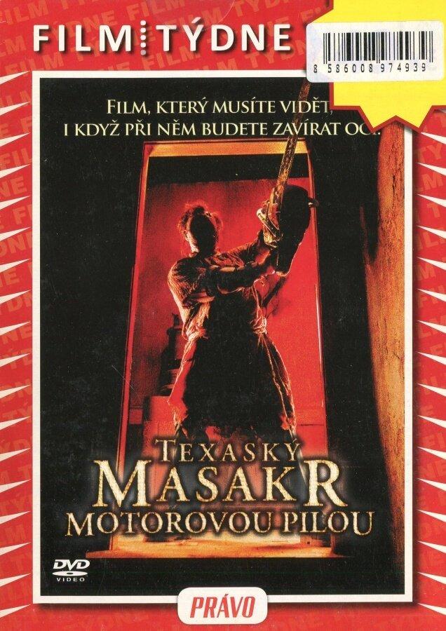 Texaský masakr motorovou pilou (DVD) (papírový obal)