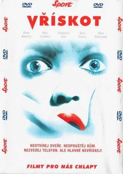 Vřískot (DVD) (papírový obal)