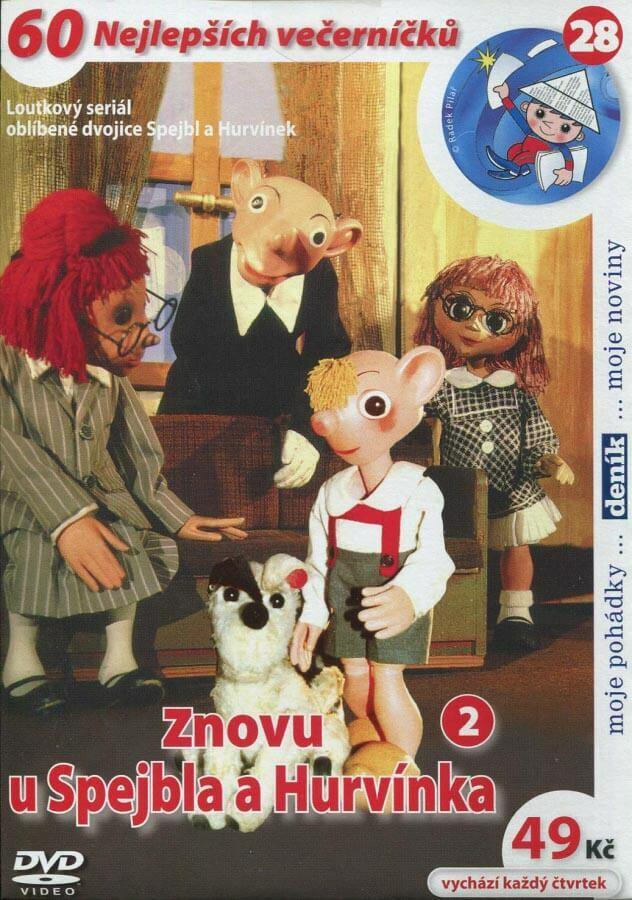 Znovu u Spejbla a Hurvínka 2 (DVD) (papírový obal)