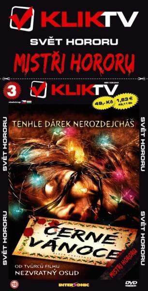 Černé Vánoce - edice svět hororu (DVD) (papírový obal)