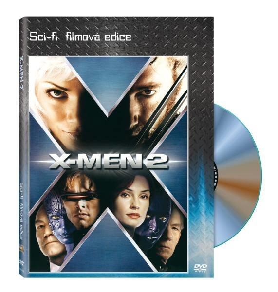 X-Men 2 (DVD) - žánrová edice - sci-fi