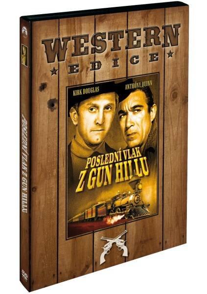 Poslední vlak z Gun Hill (DVD) (pouze s českými titulky) - edice western