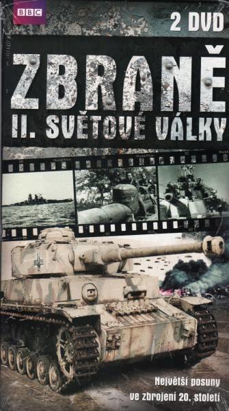 Zbraně 2. světové války - 2xDVD - BBC (papírový obal)