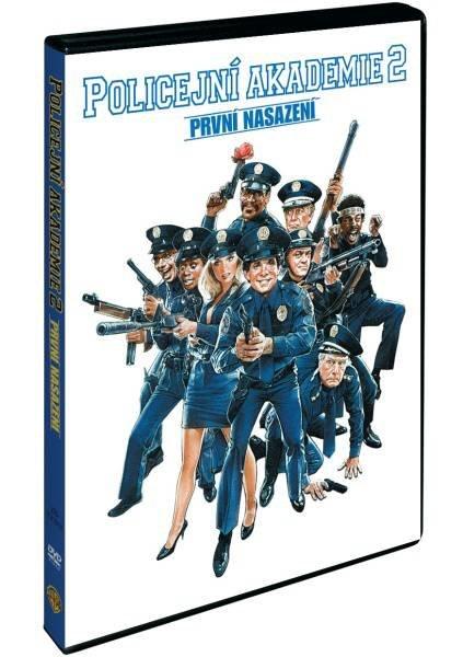 Policejní akademie 2: První nasazení (DVD)