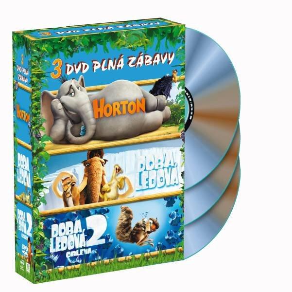 Horton + Doba ledová + Doba ledová 2 - 3xDVD