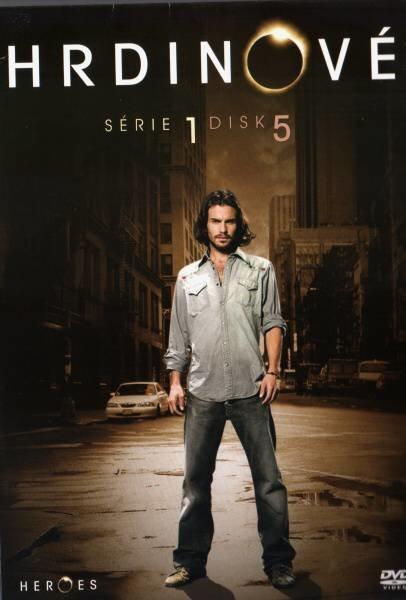 Hrdinové 1. sezóna - DISK 5 (12.-15. díl) (DVD) (papírový obal)