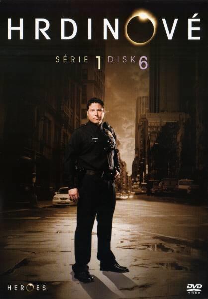 Hrdinové 1. sezóna - DISK 6 (16.-19. díl) (DVD) (papírový obal)