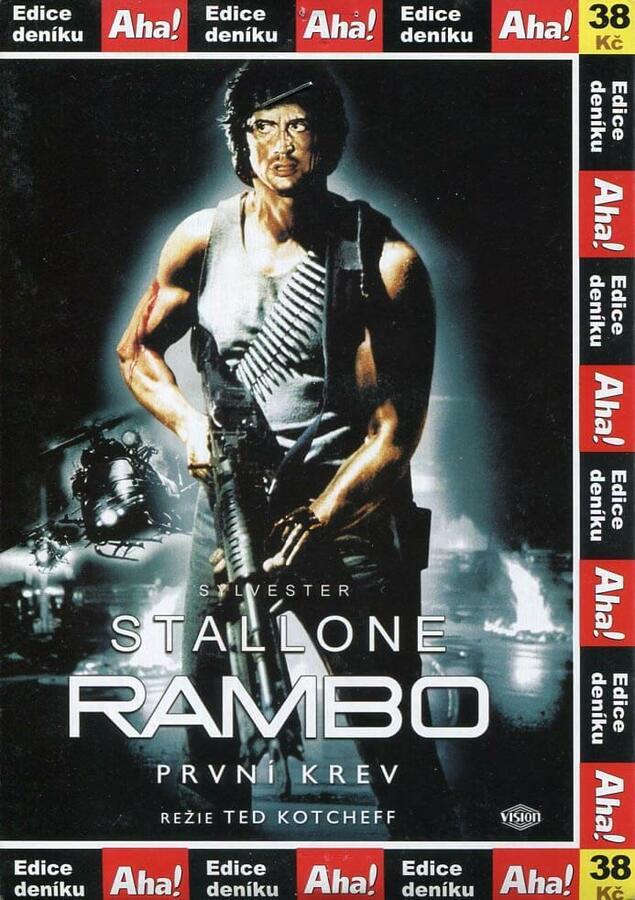 Rambo I (DVD) (papírový obal)