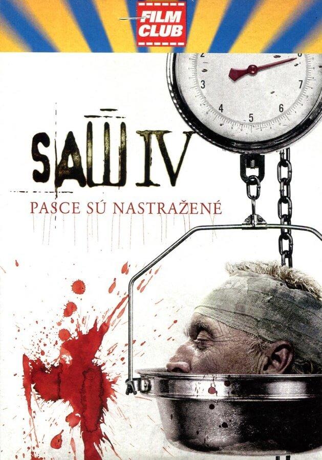 SAW IV (DVD) (papírový obal)