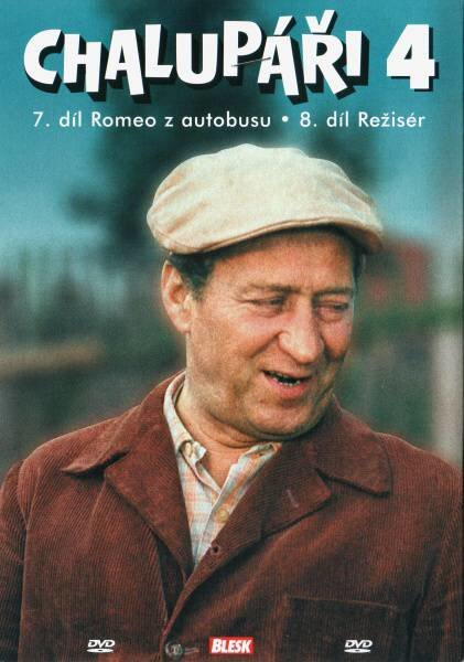 Chalupáři 4 (7.-8. díl) (DVD) (papírový obal)