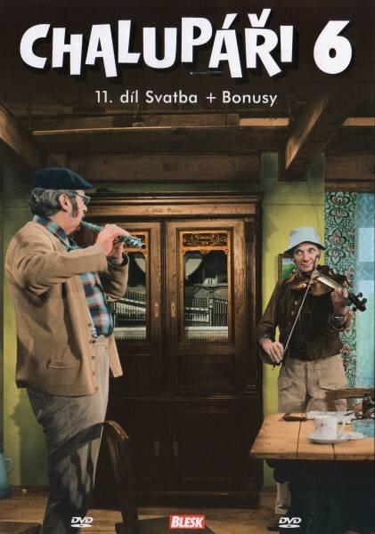 Chalupáři 6 (11. díl) (DVD) (papírový obal)