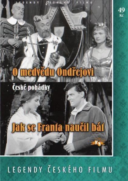O medvědu Ondřejovi / Jak se Franta naučil bát (DVD) (papírový obal)