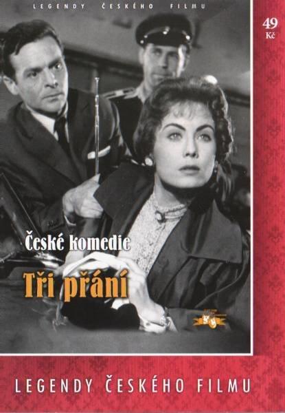 Tři přání (DVD) (papírový obal)