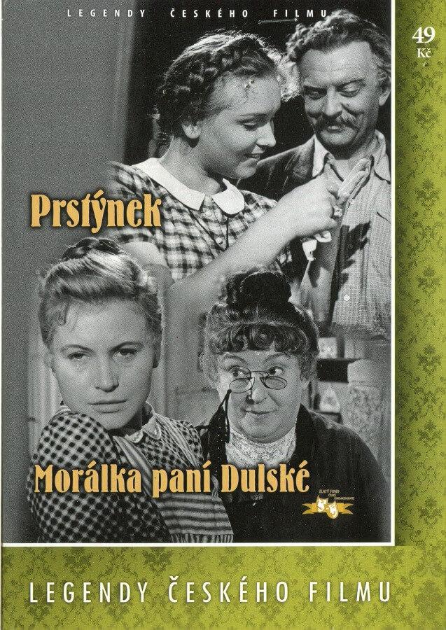 Prstýnek / Morálka paní Dulské (DVD) (papírový obal)
