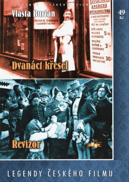 Dvanáct křesel / Revizor (DVD) (papírový obal)