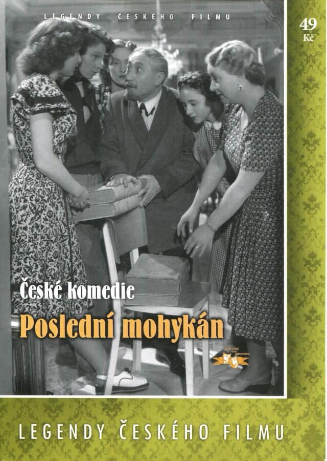 Poslední mohykán (DVD) (papírový obal)