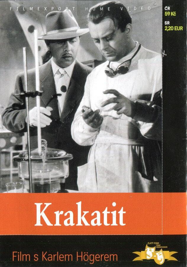 Krakatit (DVD) (papírový obal)