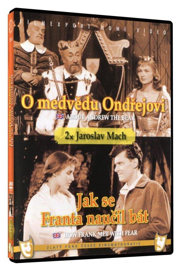 O medvědu Ondřejovi / Jak se Franta naučil bát (DVD)