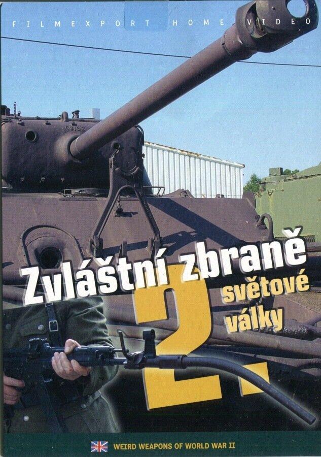 Zvláštní zbraně 2. světové války (DVD) (papírový obal)