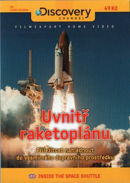 Uvnitř raketoplánu (DVD) (papírový obal)