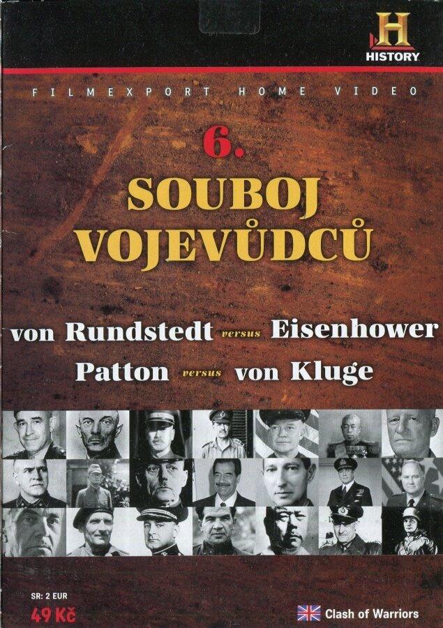 Souboj vojevůdců 6 (DVD) (papírový obal)