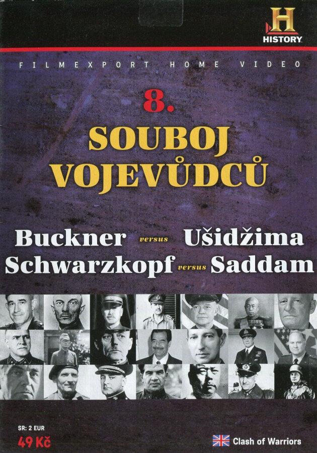 Souboj vojevůdců 8 (DVD) (papírový obal)