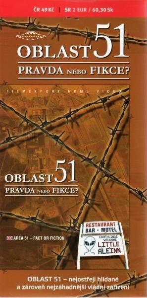 Oblast 51 - Pravda nebo fikce? (DVD) (papírový obal)